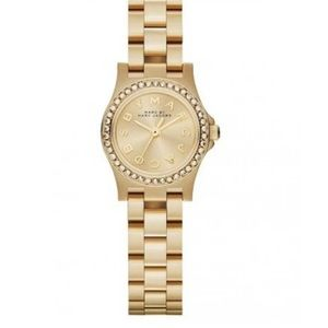 Marc Jacobs Amy watch with crystals❤️EUC⭐️Box/links included!